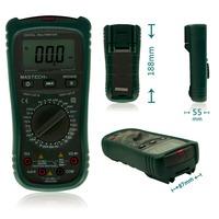 MASTECH MS8260B Digital Multimeter AC DC Voltage Current Resistance Capacitance Diode Continuity Non Contact AC Voltage Detect