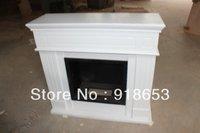 2013 modern design hot sale White color  Ethanol Fireplace mantel