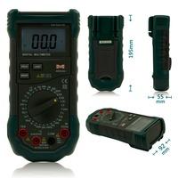 MASTECH MS8264 Digital Multimeter Capacitance Frequency Temperature Meter Multimetro Multitester Protection Circuit Anti-Burn