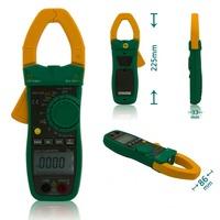 MASTECH MS2138R 4000 Counts Digital AC DC Current Clamp Meter True RMS Multimeter Voltage Capacitance Resistance Tester
