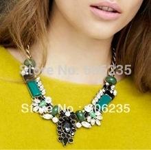 chunky stone necklace promotion