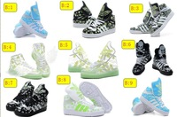 2013 new luminous high help shoes.Street dancing shoes Fluorescent shoes .Transparent sneakers.Men and women fluorescent shoes
