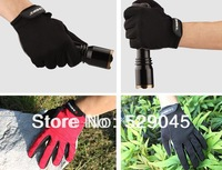 Free shipping Outdoor sports Gloves cycling Gloves fox Non-slip Breathe freely Shock absorption 3 Colors Red/Blue/Black