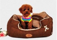 Cheap and high quanlity !!! Teddy pet nest washable dog bed nest Golden Retriever