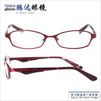 Classic Metal Full-Rim Prescription Eyeglasses Women Reading Glasses
