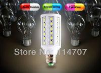 High Brightness E27/E14/B22 10W 60LEDs SMD 5050 Corn Light Bulb Lamp Warm White / Pure White 220-240V/110V  Free Shipping