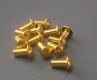 Copper round head rivet GB867 copper rivet solid copper rivets