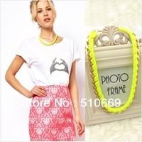 Fashion Jewelry Star Choker Necklace 1pc/lot  Free Shipping NTB013