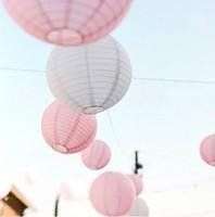 (10pcs/Lot) 8''(20cm)Free Shipping Round Paper Lantern Lamp  Estival&Wedding Decoration  white paper wedding  lanterns
