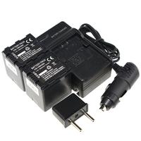 Digital Boy (4pcs/set )2pcsVW-VBN260 battery+Charger+Car Charger for PANASONIC HDC-HS900 HDC-Tm900 HDC-SD900 Drop Shipping