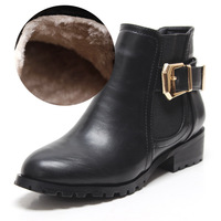 Plus size boots 40 - 43 british style motorcycle boots Large women's boots 44 45 martin boots