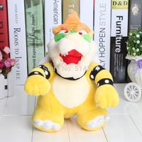 "Super Mario 1 pcs 10 inch Bros Bowser Plush Figure Soft Doll 10"" new arrival hot sale"