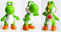 "freeshipping 1X Large PVC Figure Super Mario Brothers Action Figure Yoshi 10""/26cm"
