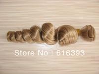 Beautiful Spiral Curl #27Color Malaysia Virgin Human Hair Weaving--Human hair Weave Wavy