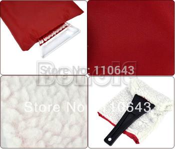 5pcs/Lot Wholesale Mini New Car Snow Brush, Auto Ice Shovel Vehicle Ice Scraper Clean Tool Protect Hand Gloves 4725