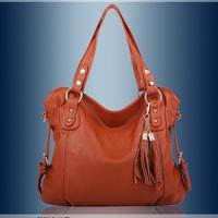 Free shipping 2013 fashion leather bag vintage handbag brand design multifunctional women messenger bag, original design totes