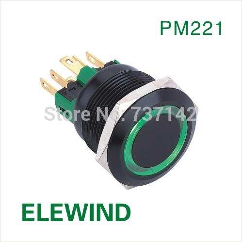 ELEWIND-22mm-BLACK-aluminum-Ring-illumin