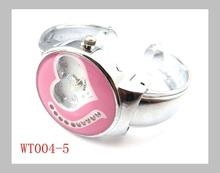 Lose money sale 6 colors top quality jewelry Heart shaped screen watch women ladies fashion wrist