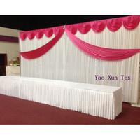 Free Shipping Wedding Backdrop 3M*6M\Wedding Curtains\Wedding Decoration Best Quality