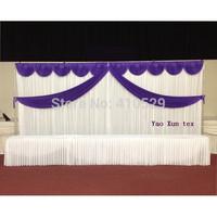 Free Shipping Purpel Wedding Backdrop\Wedding Background\Wedding Decoration