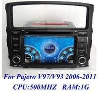 New arrivel ! Russian 3G Car DVD for Mitsubishi Pajero V97 V93 (2006-2011) Navigation System with GPS Radio Bluetooth PIP