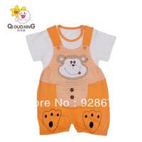 Infant child animal lovely cute clothes summer small home bodysuit baby clothes baby style clothing baby soft &nice style romper