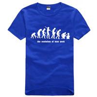New  The Big Bang Theory t-shirt men's couple t-shirt cotton high quality black blue red yellow