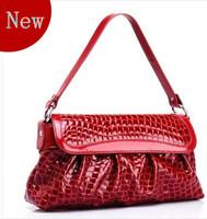 Wolsey 2013 women's genuine leather handbag the trend of crocodile pattern shoulder bag