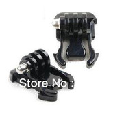 10 Sets camera Gopro accessories 2x Buckle Basic Strap Mount Clips Black For Gopro HD Hero1 Hero 2 Hero3 SKU/GP06,free shipping