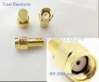 10pcs/lot  RP-SMA jack RF coaxial Termination dummy Loads 1W 0.5 watt DC- 2.5GHz 50 ohm