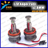 5sets wholesale 20W CREE LED Angel Eye Halo Light For BMW E92 M3 E90 E91 E60 E61 E63 E64 E89 Z4 H8 LED Marker Angel Eyes