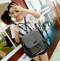 new 2014 Hot sale  vintage Fashion crocodile grain women backpack travel bag leisure sport bag Wholesale free shipping B028
