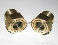 "NPT 1"" Brass Oil sight glass"