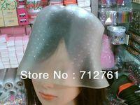 Makeup Tool Kits, Hair coloring cap, Reusable Professional Salon Hair Color Coloring Highlighting Dye Cap + Hook