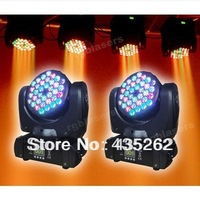 2X 36*3W CREE R/G/B/W LED Beam & Wash Moving Head light for Club DJ party stage  Beam Light