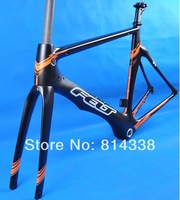 Free shipping & a gift!New FT AR bicycle,Carbon Road Bicycle/ track Bicycle Frame Kits(Frame+fork+seatpost+clamp+headset) _AR5