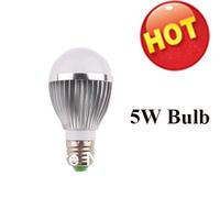 5W LED bulb 5W 460 Lumen LED Globe Bulb E26 E27 110V AC 270 View Angle