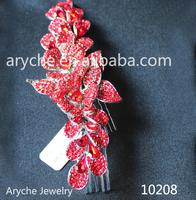 2013 New Fashion Handmade Bride Wedding Hair Accessories Crystal Bridal Wedding Hairband Jewelry Hair Comb & Color Tiara