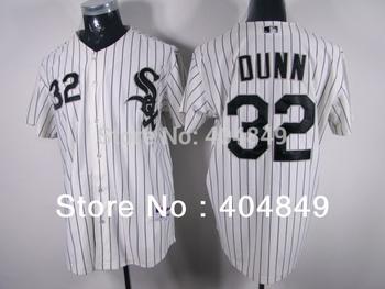 AA+ 32 multiple Adam Dunn jersey,white sox new home gray black green authentic,women men custom baseball free shipping