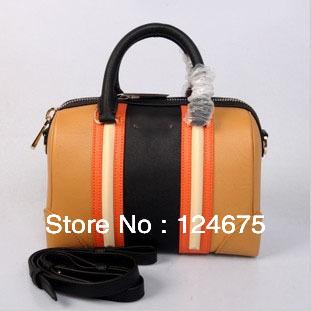 Middle Size:26x13x18CM 2013 Celebrity Brand Giv Lucrezia Bag Boston Tote Fashion Women Handbag Bags Free Shipping