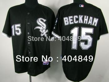AA+ 15 multi type Gordon Beckham jersey,white sox new home gray black green authentic,women men custom baseball free shipping