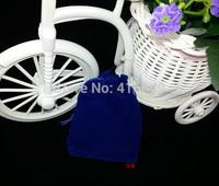 Free Shipping,100pcs/Lot 8*10cm Royal blue Velvet Bag/Jewelry Bag/Velvet pouch,Christmas/Wedding Gift Bag