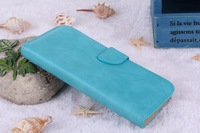 Folio leather case for samsung Galaxy S3 I9300 ,Stand Wallet case for I9300 galaxy S3 Pure color Vintage Style