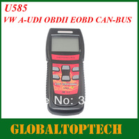 Free Shipping!! 2013 NEW U585 Super memo scanner for VAG AND CAN-OBD2 U585 CAN OBD2 VAG Diagnostic Tool Code Reader OBD2 Scanner
