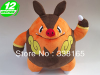 cute anime figure Pokemon Pignite plush toy dolls stuffed animal toys 12 inches pig doll holiday gift