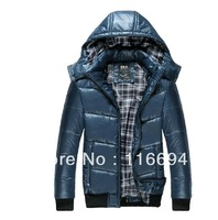 watch 2013 wnter mens parka down jackets and coats,casual dress jacket original brand goose splicing rlx coat for men HOT y41