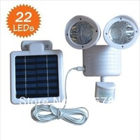 2013 NEW, Solar White 22 LED SECURITY LIGHT SHED GARAGE MOTION SENSOR light