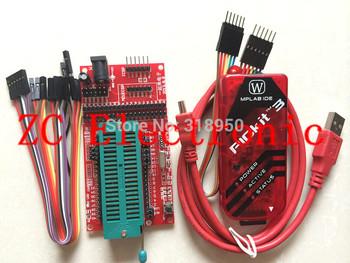 pickit3 Programming / emulator + PIC microcontroller / minimum system board / development board / universal programmer seat