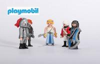 PLAYMOBIL Free shipping C club playmobil paddle pop mobi dolls 20pcs/pack 7.5cm and 5.5cm  building blocks of people DIY BLOCKS