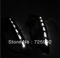 FAST FREE SHIPPING BY EMS New arrival Car-special daytime running light for Fiat Viaggio with yellow light flicker turn signals
